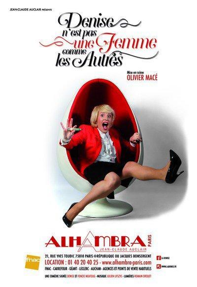 denise n'est pas une femme comme les autres alhambra theatre music hall spectacle artistik rezo paris