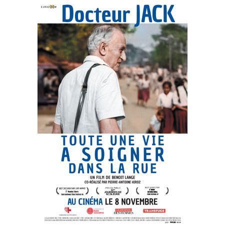 docteur jack documentaire affiche cinema 8 novembre artistik rezo paris