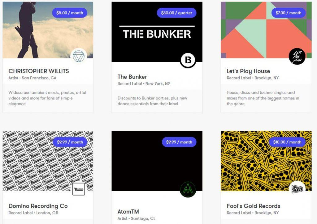 drip kickstarter site internet plateforme creative artistik rezo paris