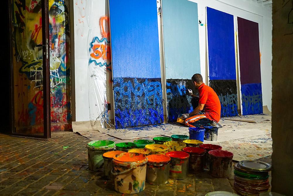 jardin rouge fondation montresso marrakech jonone expositon street art artistik rezo paris
