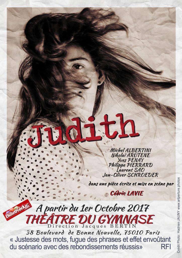 judith theatre du gymnase theatre piece artistik rezo paris