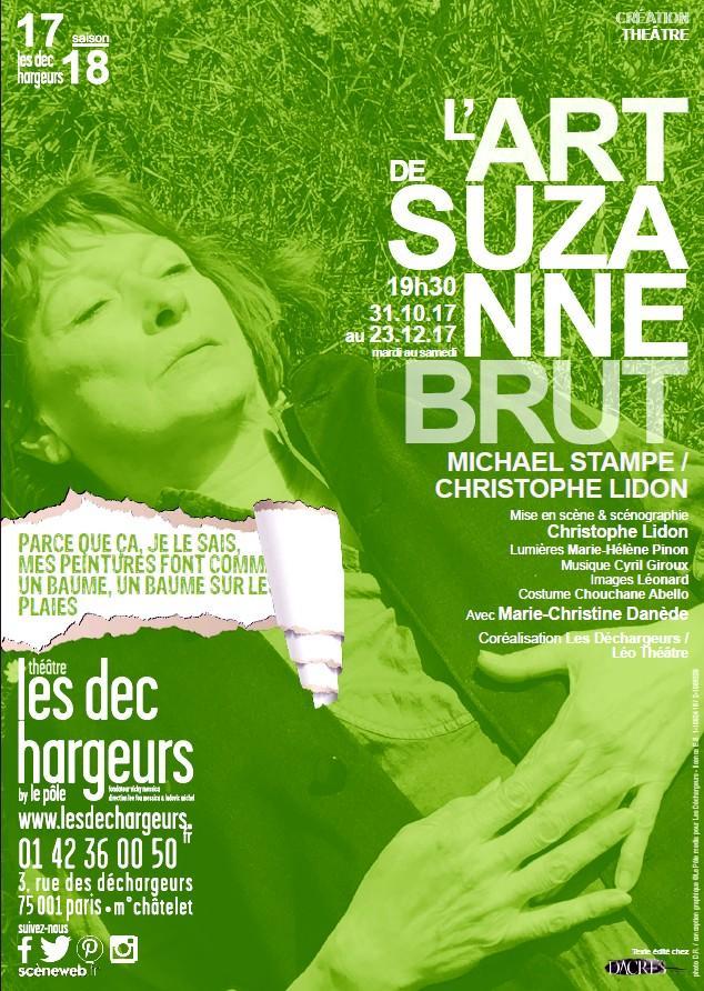l art de suzanne brut theatre des dechargeurs artistik rezo paris