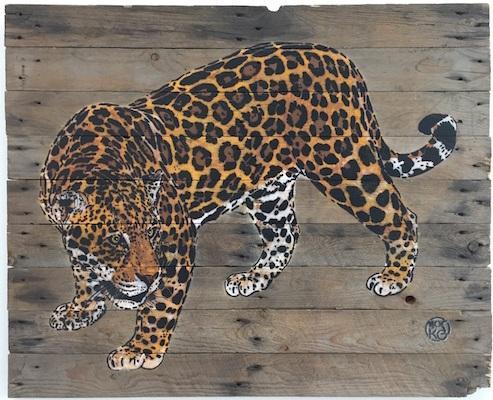 mosko jaguar exposition gca gallery artistik rezo paris