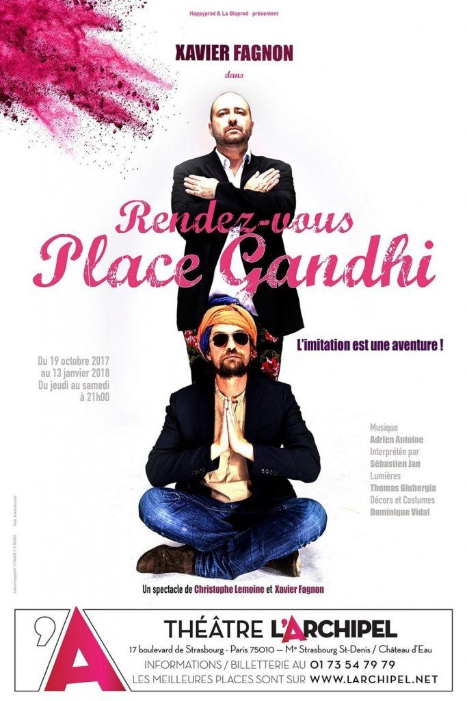 rendez vous place ghandi archipel spectacle artistik rezo paris