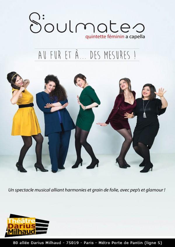 soulmates theatre darius milhaud musique spectacle artistik rezo paris