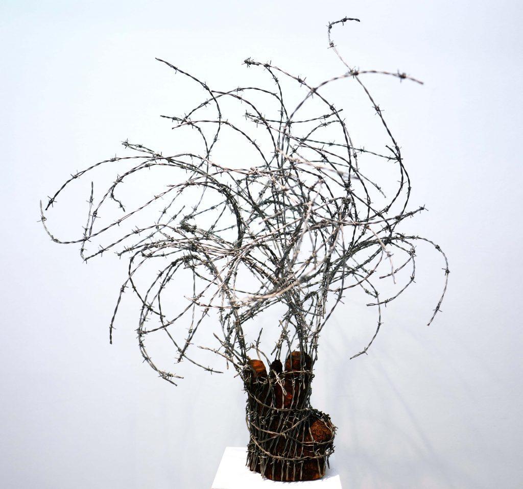 abdul rahman katanani magda danysz gallery solo show hard core artistik rezo paris