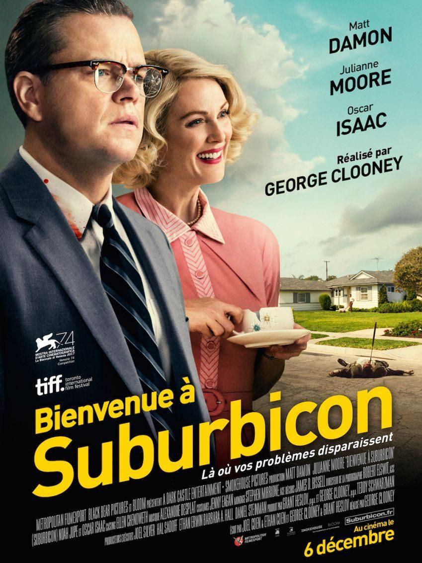 bienvenue à suburbicon georges clooney fréres cohen matt damon julianne moore thriller cinema artistik rezo paris