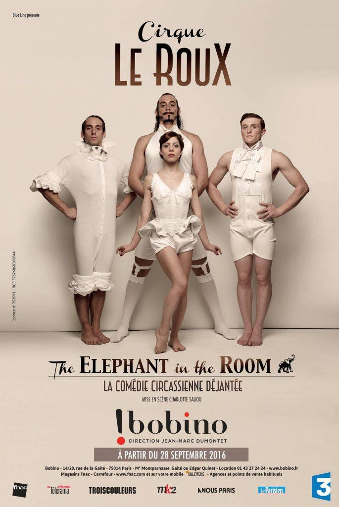 cirque le roux cirque contemporain theatre bobino artistik rezo paris