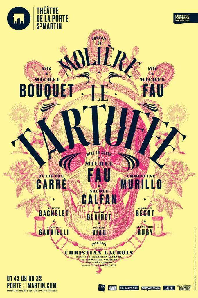 le tartuffe theatre de la porte saint martin comedie moliere artistik rezo theatre paris