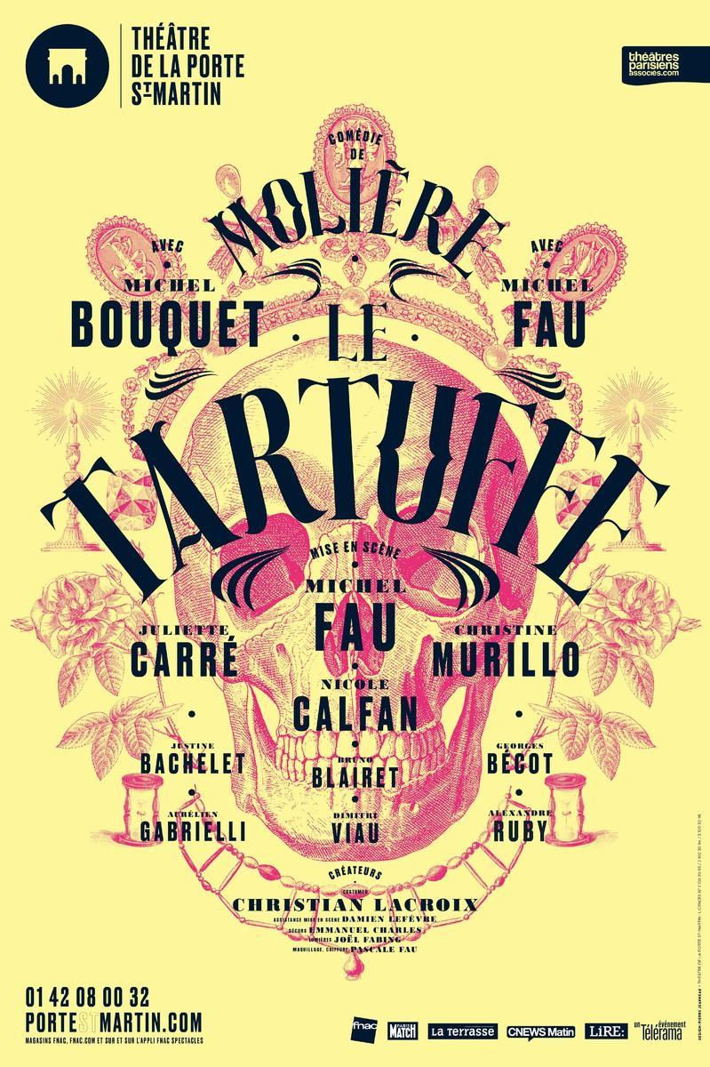 Le tartuffe th tre de la porte saint martin artistikrezo - Theatre de la porte saint martin plan ...