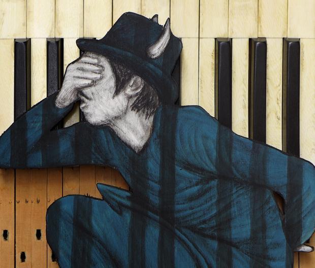 levalet blue note exposition le cabinet d amateur street art art urbain urban art artistik rezo paris
