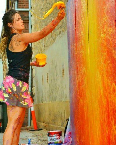 mar street art art urbain urban art mur oberkampf artistik rezo paris