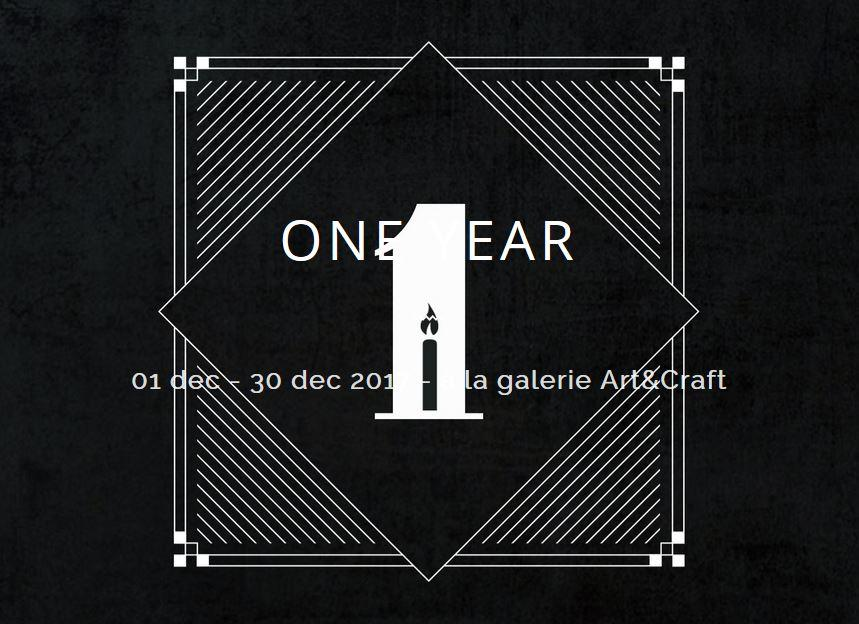one year group show galerie artistik rezo art and craft galerie paris