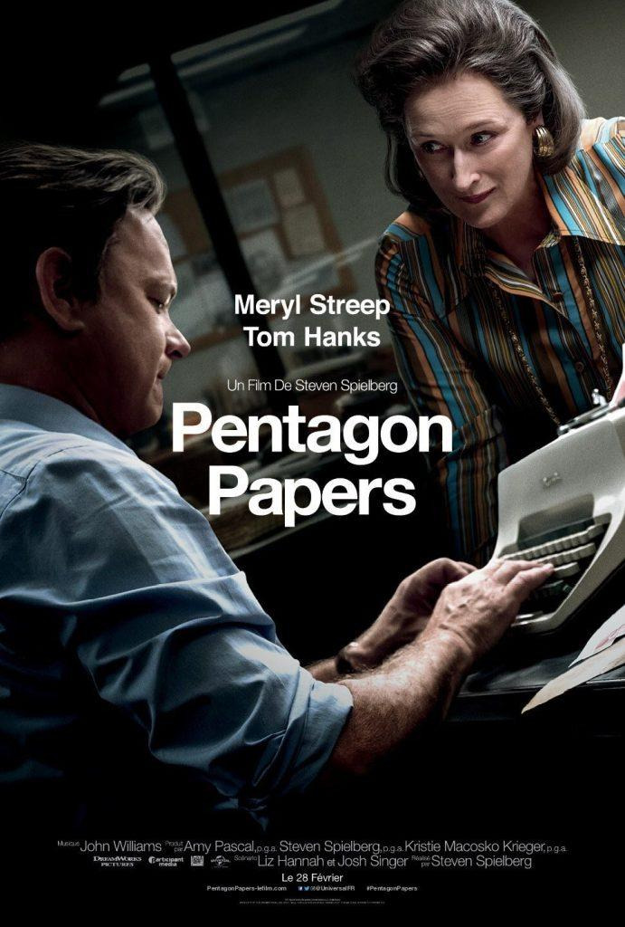 pentagone papers tom hanks meryl streep steven spielberg sorties ciné cinéma film artistik rezo paris