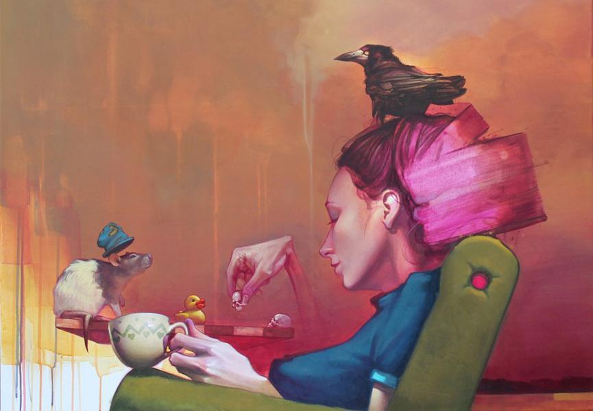 sainer exposition street art art urbaun urban art artistik rezo vernissage decembre paris