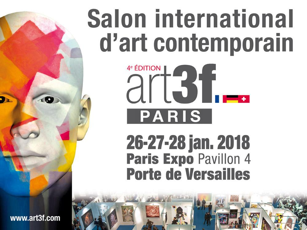 salon international d'art contemporain art3f artistik rezo paris