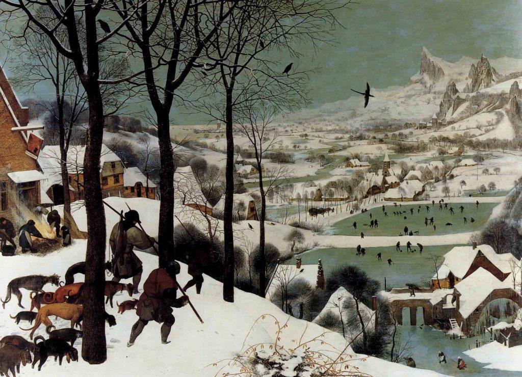 les-Chasseurs-dans-la-neige-Bruegel-Les-100-œuvres-d'art-qu'il-faut-avoir-vues-Gérard Denizeau-Larousse