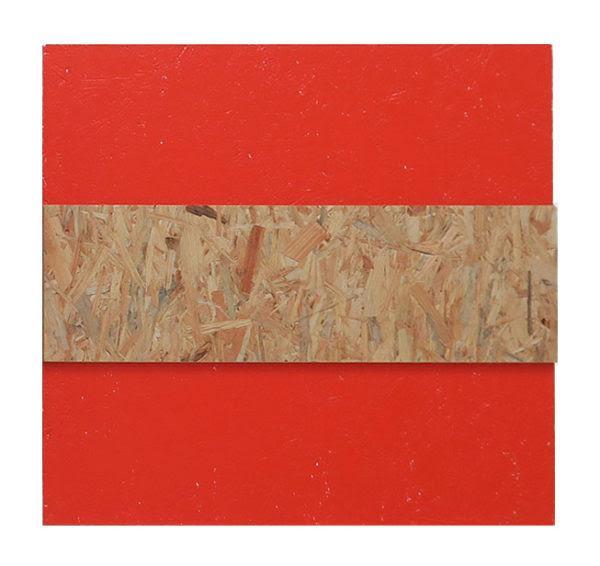 John Nixon orange monochrome 2002 exposition artistikrezo paris