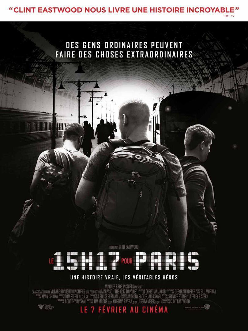 le 15h17 pour paris film cinéma sorties cine artistik rezo paris