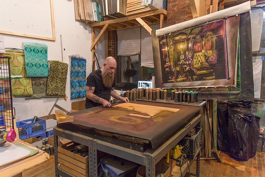 Light seekers and night crawlers Logan Hicks galerie openspace exposition artistikrezo paris