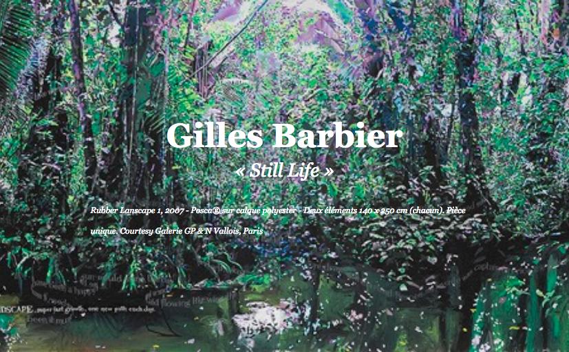 Still Life Gilles Barbier exposition artistikrezo paris