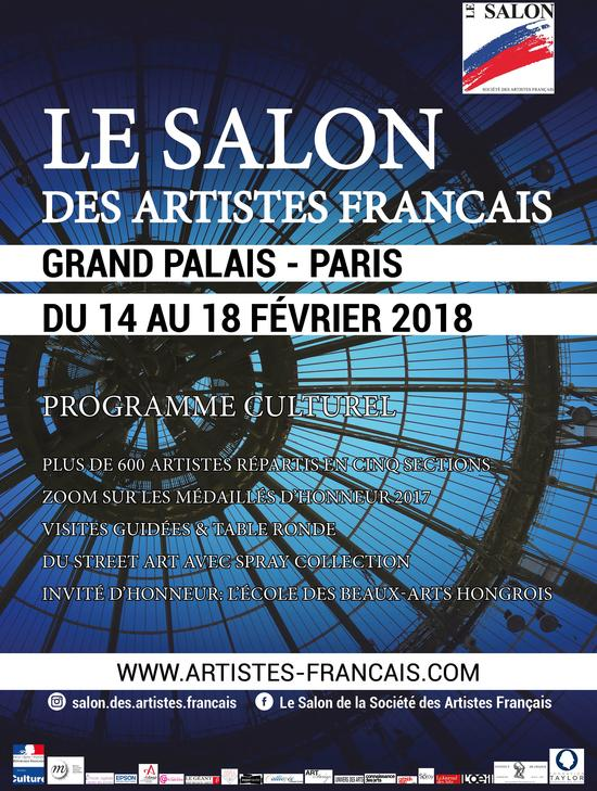 salon des artistes français grand palais 2018 artistik rezo paris