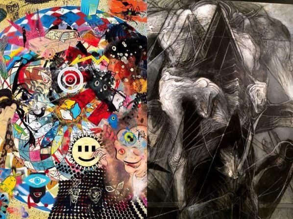 vertige vertebres duo show exposition art contemporain akiza galerie artistik rezo paris