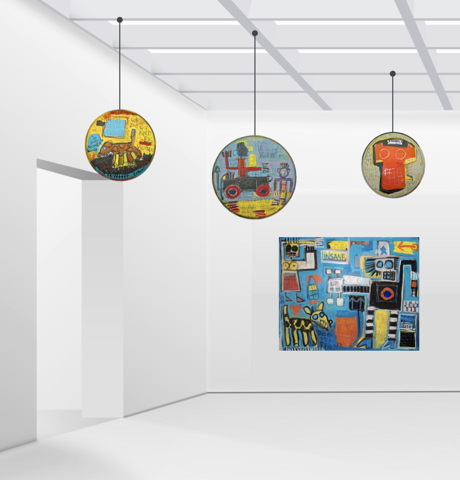 exposition rings on fire stani galerie charron artistikrezo paris