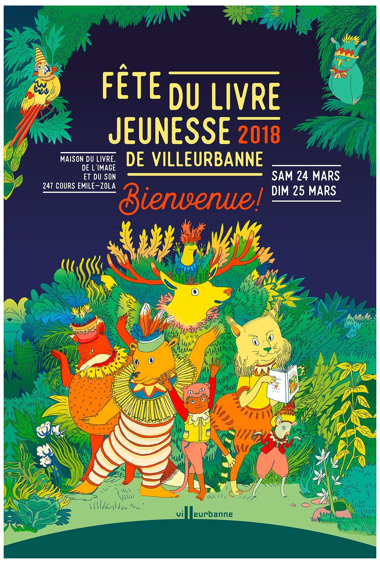 Fete Du Livre Jeunesse 2018 Villeurbanne Artistikrezo