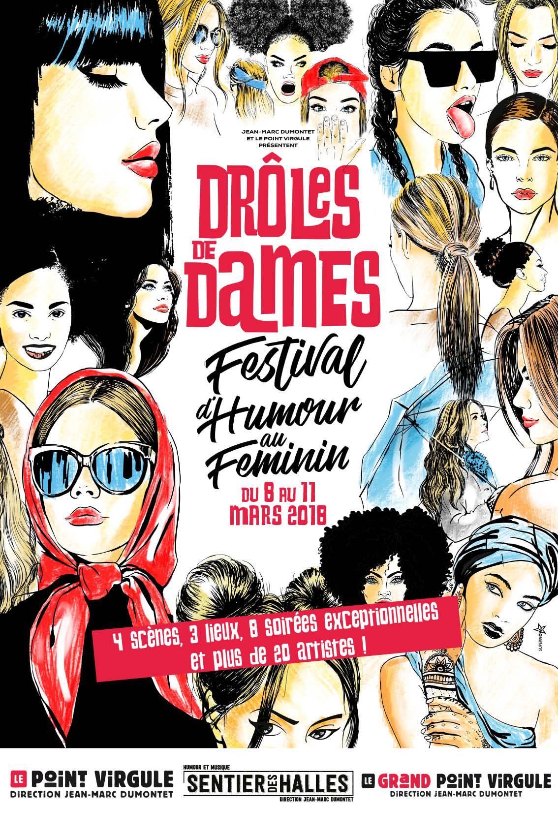 Complètement et à l'extrême Drôle de Dames - Festival d'humour au féminin au Grand Point #QP_48