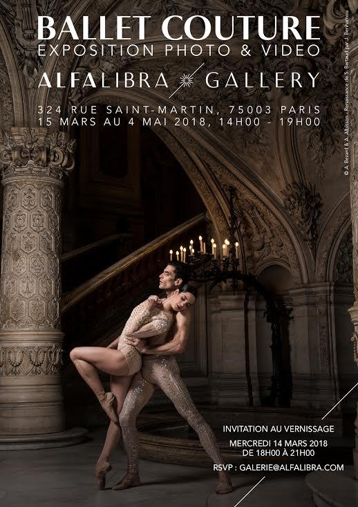 exposition ballet couture alfalibra gallery artistikrezo paris