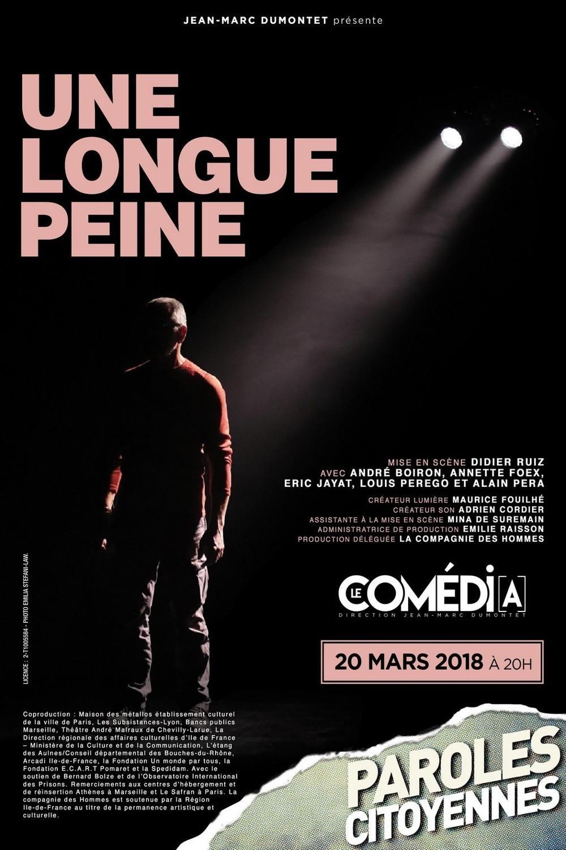 paris theatre artistik rezo didier ruiz une longue peine comedia_