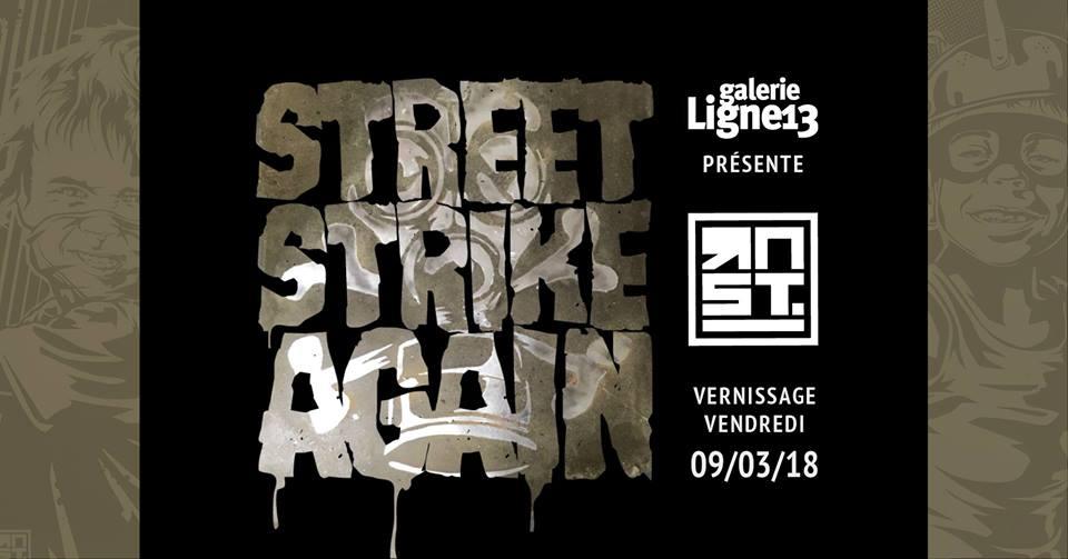 street strike again galerie ligne 13 rnst artistikrezo paris