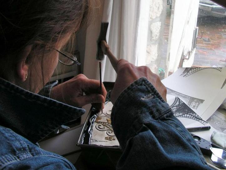 Linda-Ladurner-Saint-Leu-Art Expo-métiers-artisans