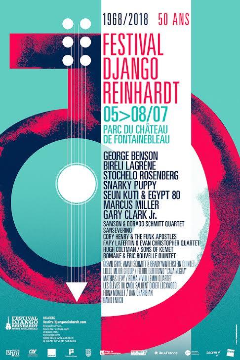 Festival django reinhardt 50 ans château de fontanebleau musique jazz artistikrezo paris