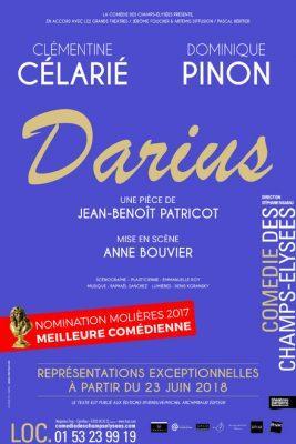 jean benoit patricot darius theatre de la comedie des champs elysees artistik rezo
