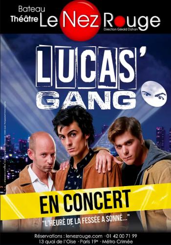 luca's gang le nez rouge chanson satirique musique concerts artistikrezo paris