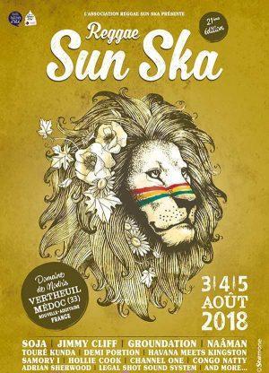 reggae sun ska 2018 Vertheuil artistik rezo