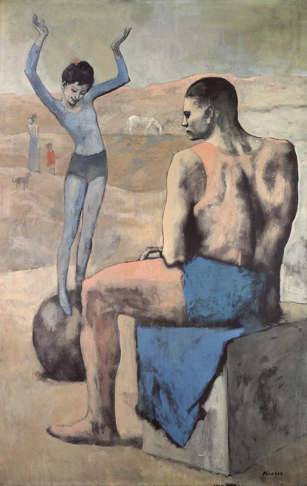 Pablo-Picasso-Acrobate-à-la-boule