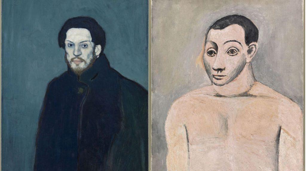 Pablo-Picasso-Autoportraits