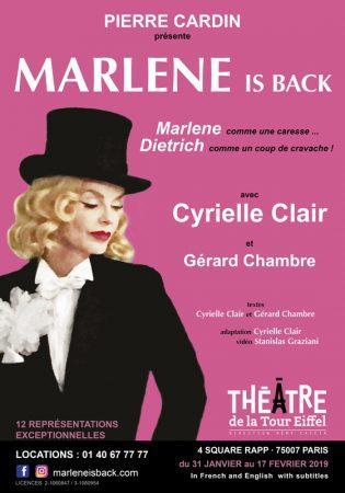exquisite design competitive price quality Marlene is back - Théâtre de la Tour Eiffel - Artistikrezo
