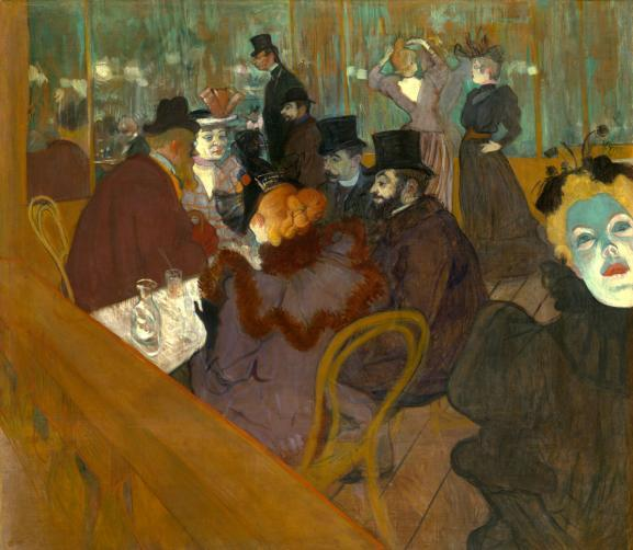 Toulouse-Lautrec-Au Moulin-rouge © Art Institute of Chicago, Dist. RMN-Grand Palais