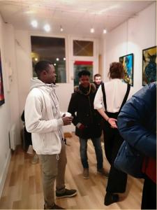 Visite de l'exposition PROPAGATION