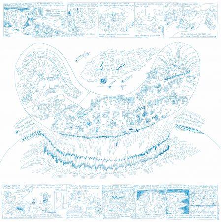 Cartographie pour LOOP Festival 2020 par l'artiste Aldo Urbano (1991)