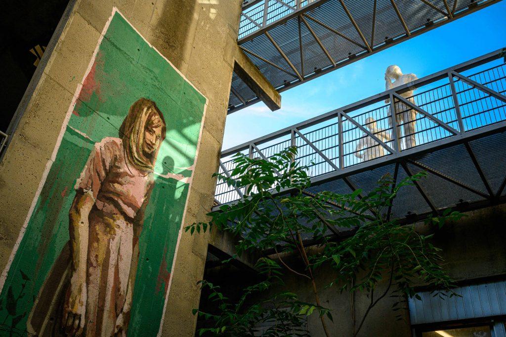 Fresque d'Arkane durant l'Urban Art Jungle Festival 05 en 2019 - Crédit photo : Lionel Rault