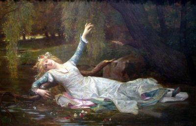 Ophélia d'Alexandre Cabanlel