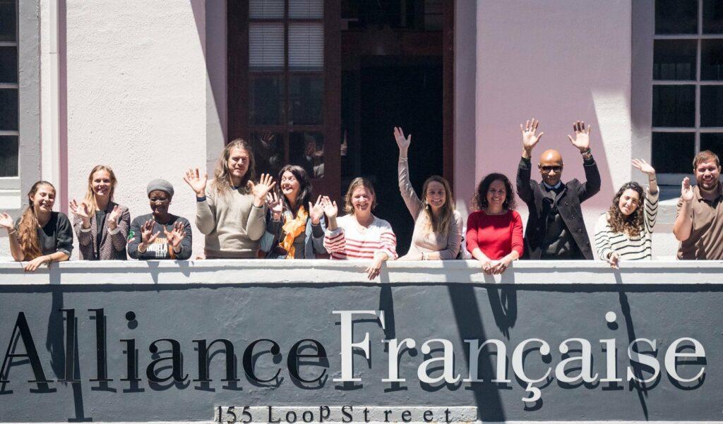 Equipe Alliance Française du Cap 2020