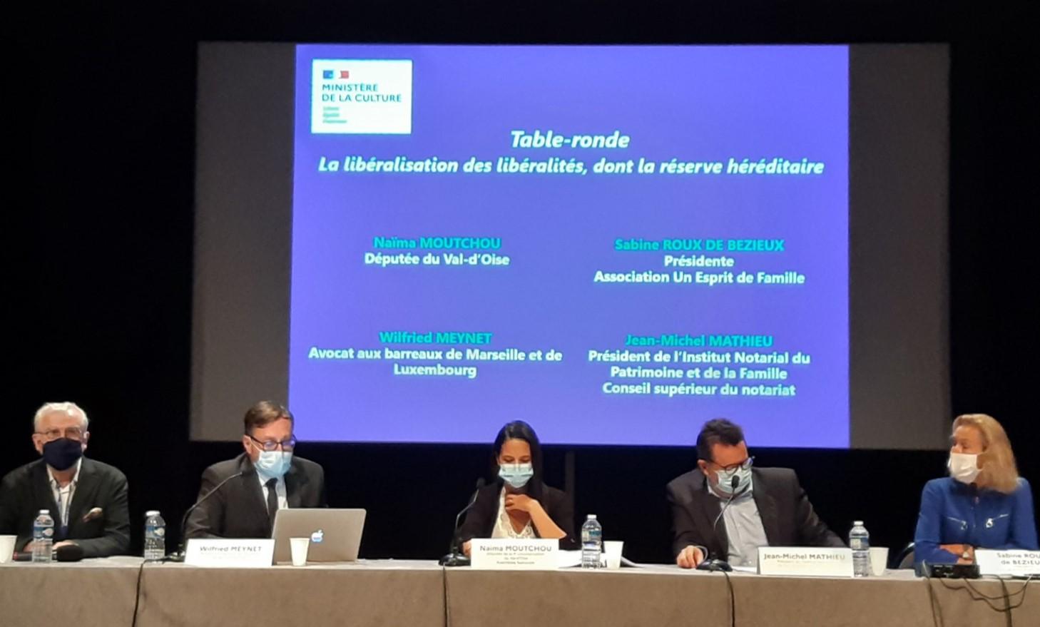 Table ronde du 72e Jeudi du mécénat sur « Le Philanthropie à la française » - 17 septembre 2020